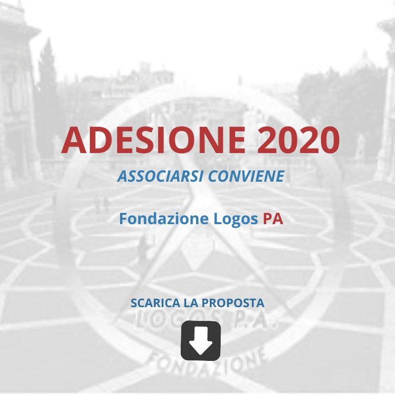 ADESIONE 2020 FONDAZIONE LOGOS PA - Associarsi conviene